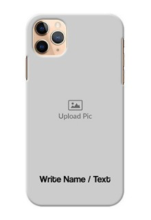 Iphone 11 Pro Max Mobile Cover: Photo with Text