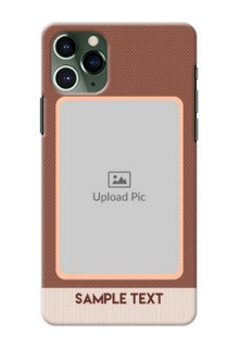 Iphone 11 Pro Phone Covers: Simple Pic Upload Design