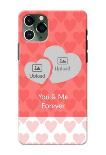 Iphone 11 Pro personalized phone covers: Couple Pic Upload Design