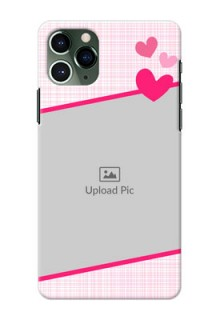 Iphone 11 Pro Personalised Phone Cases: Love Shape Heart Design