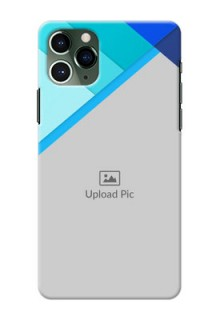 Iphone 11 Pro Phone Cases Online: Blue Abstract Cover Design