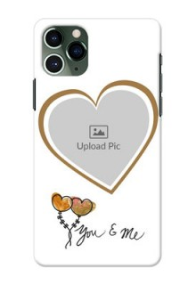 Iphone 11 Pro customized phone cases: You & Me Design