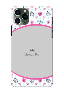 Iphone 11 Pro Mobile Covers: Colorful Flower Design