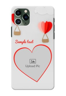 Iphone 11 Pro Phone Covers: Parachute Love Design