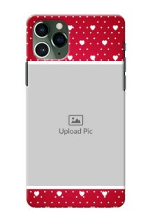Iphone 11 Pro custom back covers: Hearts Mobile Case Design
