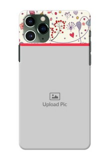 Iphone 11 Pro phone back covers: Premium Floral Design
