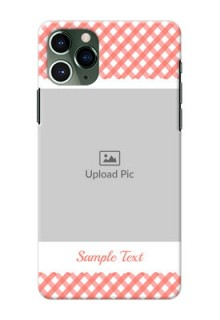 Iphone 11 Pro custom mobile cases: Pink Pattern Design