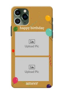 Iphone 11 Pro Phone Covers: Image Holder with Birthday Celebrations Design