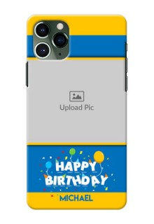 Iphone 11 Pro Mobile Back Covers Online: Birthday Wishes Design