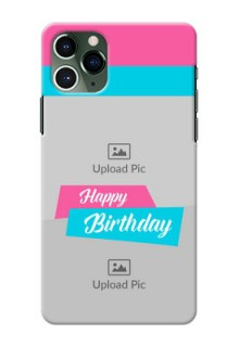 Iphone 11 Pro Mobile Covers: Image Holder with 2 Color Design