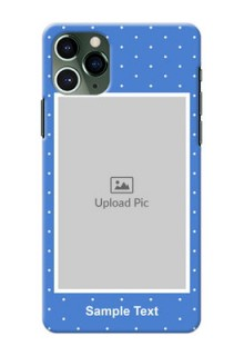 Iphone 11 Pro Personalised Phone Cases: polka dots design