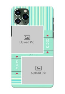 Iphone 11 Pro custom mobile phone covers: Mom & Dad Pic Design