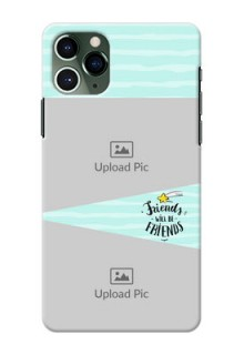 Iphone 11 Pro Mobile Back Covers: Friends Picture Icon Design