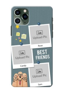 Iphone 11 Pro Mobile Cases: Sticky Frames and Friendship Design