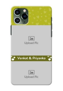 Iphone 11 Pro custom mobile covers: You & Me Heart Design