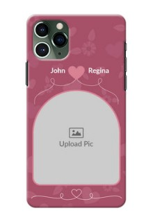 Iphone 11 Pro mobile phone covers: Love Floral Design