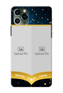 Iphone 11 Pro Mobile Covers Online: Galaxy Stars Backdrop Design