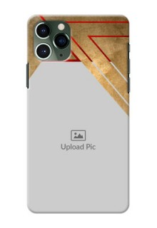 Iphone 11 Pro mobile phone cases: Gradient Abstract Texture Design