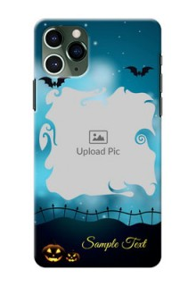 Iphone 11 Pro Personalised Phone Cases: Halloween frame design