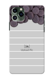 Iphone 11 Pro Custom Mobile Covers with Oreo Biscuit Design