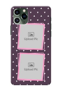 Iphone 11 Pro Phone Cases: Triangle Pattern Dotted Design