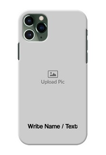 Iphone 11 Pro Mobile Cover: Photo with Text
