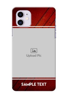 Iphone 11 Back Covers: Leather Phone Case Design