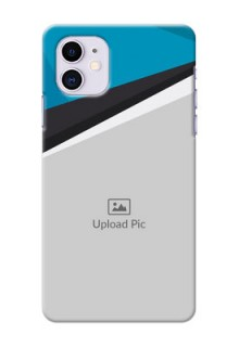 Iphone 11 Back Covers: Simple Pattern Photo Upload Design