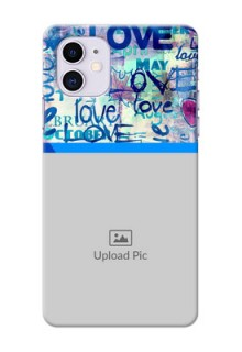 Iphone 11 Mobile Covers Online: Colorful Love Design