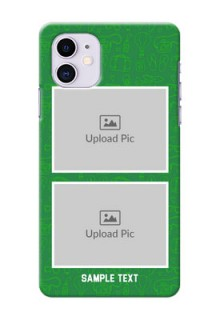 Iphone 11 custom mobile covers: Picture Upload Design
