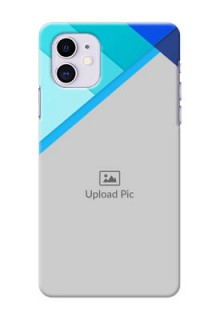 Iphone 11 Phone Cases Online: Blue Abstract Cover Design