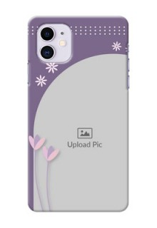Iphone 11 Phone covers for girls: lavender flowers design
