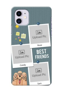Iphone 11 Mobile Cases: Sticky Frames and Friendship Design