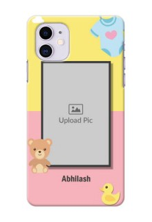 Iphone 11 Back Covers: Kids 2 Color Design