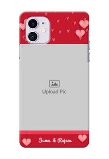 Iphone 11 Mobile Back Covers: Valentines Day Design