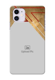 Iphone 11 mobile phone cases: Gradient Abstract Texture Design