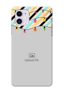 Iphone 11 Personalized Mobile Covers: Lights Hanging Design