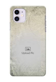 Iphone 11 custom mobile back covers with vintage design