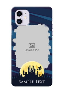 Iphone 11 Back Covers: Halloween Witch Design