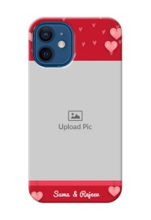 iPhone 12 Mini Mobile Back Covers: Valentines Day Design