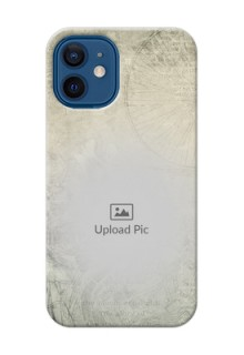 iPhone 12 Mini custom mobile back covers with vintage design