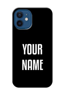 iPhone 12 Mini Your Name on Phone Case