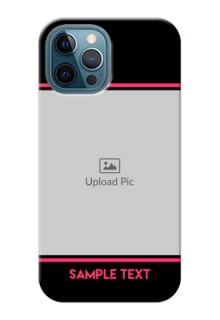 iPhone 12 Pro Max Mobile Covers With Add Text Design