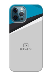 iPhone 12 Pro Max Back Covers: Simple Pattern Photo Upload Design