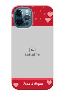 iPhone 12 Pro Max Mobile Back Covers: Valentines Day Design
