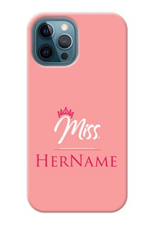 iPhone 12 Pro Max Custom Phone Case Mrs with Name