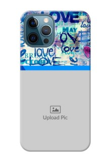 iPhone 12 Pro Mobile Covers Online: Colorful Love Design
