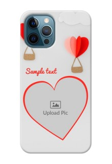 iPhone 12 Pro Phone Covers: Parachute Love Design