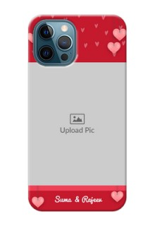 iPhone 12 Pro Mobile Back Covers: Valentines Day Design