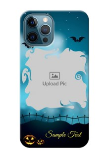 iPhone 12 Pro Personalised Phone Cases: Halloween frame design